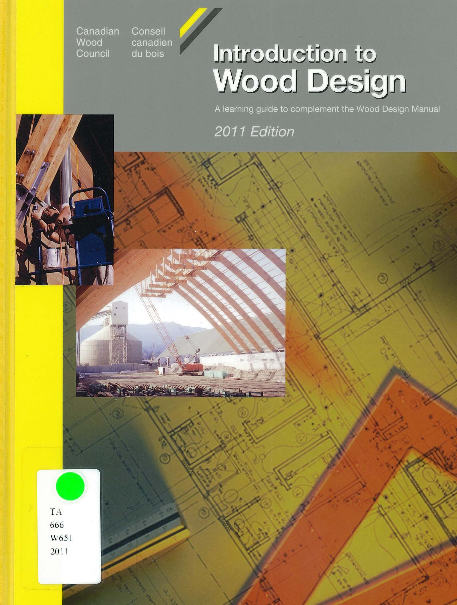 Wood civil engineering buildings guides english at for Annonceur maison du canadien